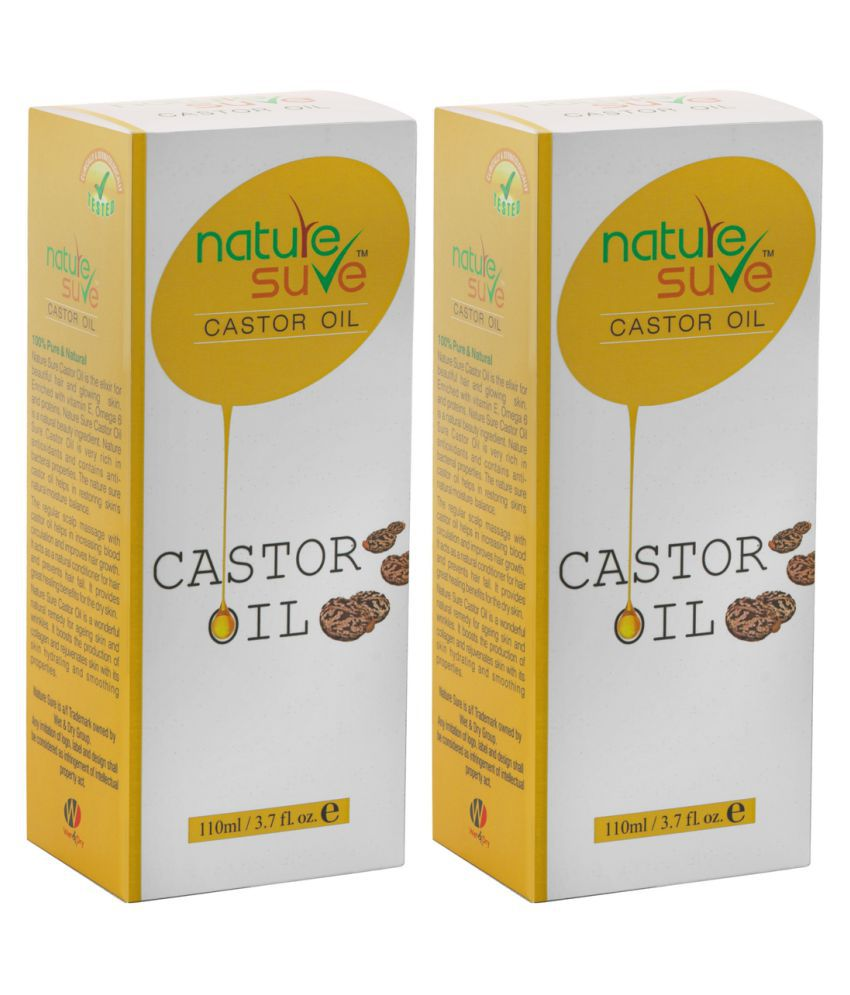 Nature Sure Castor Oil Castor Oil Essential Oil 200 ml