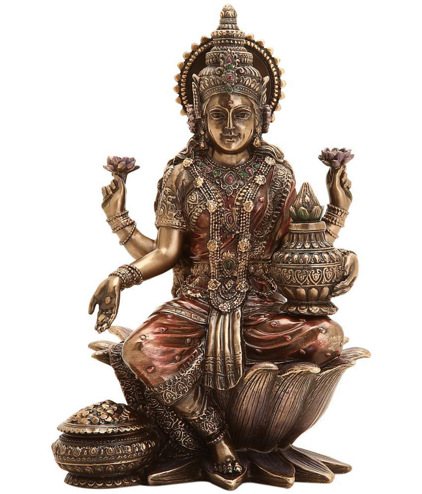 Shivika Enterprises Laxmi Polyresin Idol