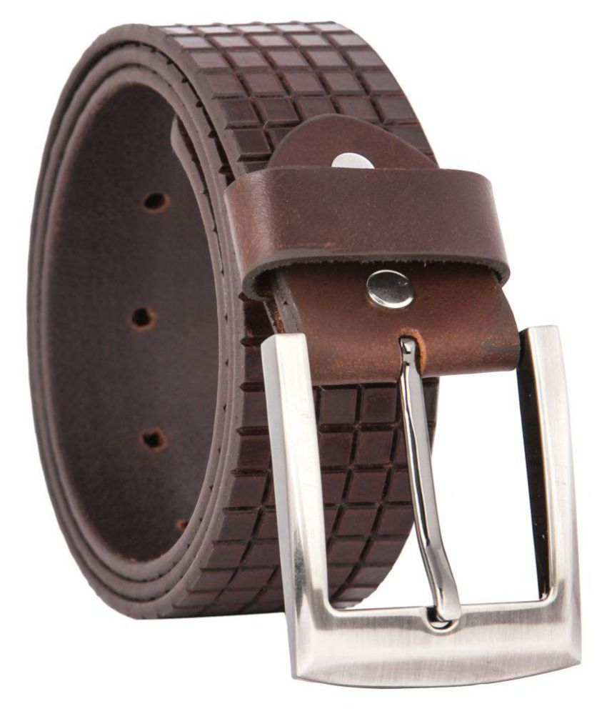 Waist Wire Brown Leather Casual Belts