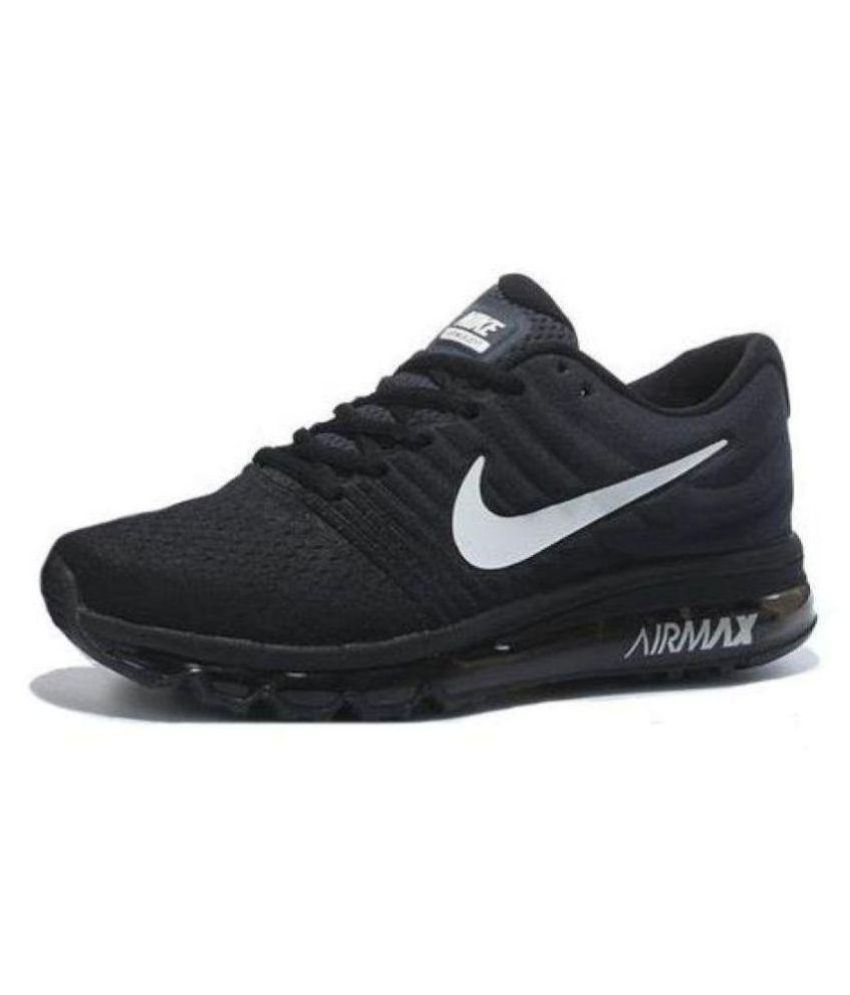 Nike AIR MAX 2017 Black Casual Shoes ...