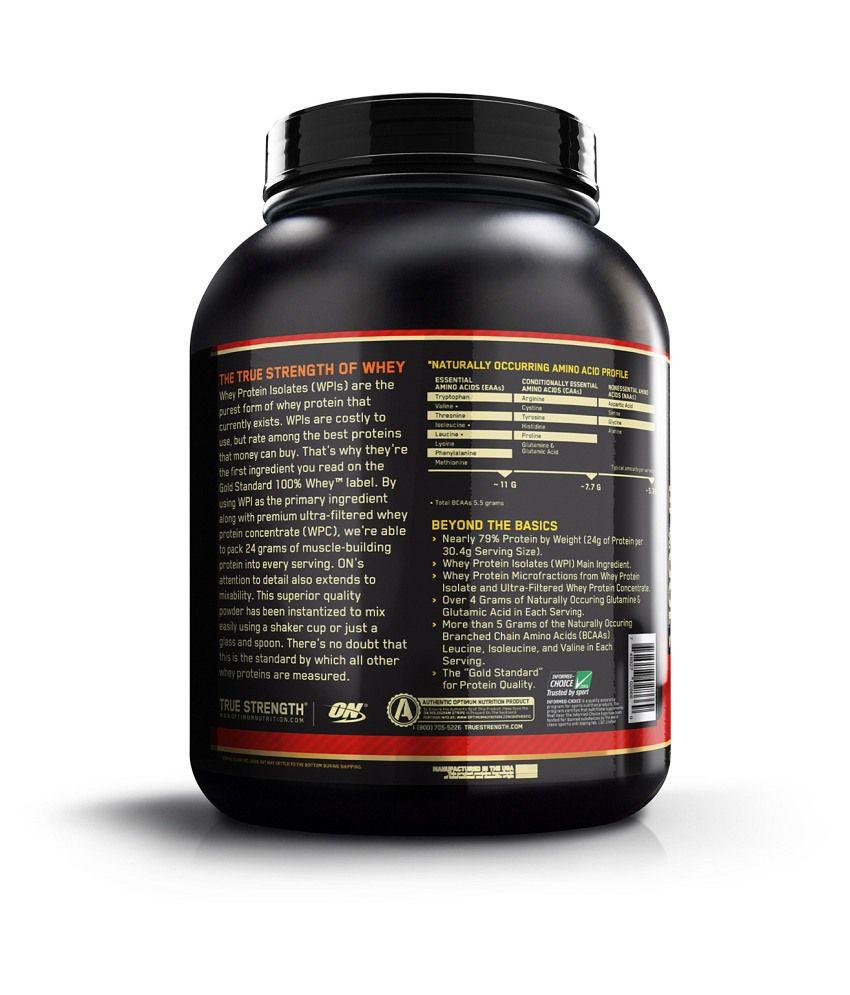 77cf1a9dd Optimum Nutrition (ON) 100% Whey Gold Standard - 5 lbs  Buy Optimum ...