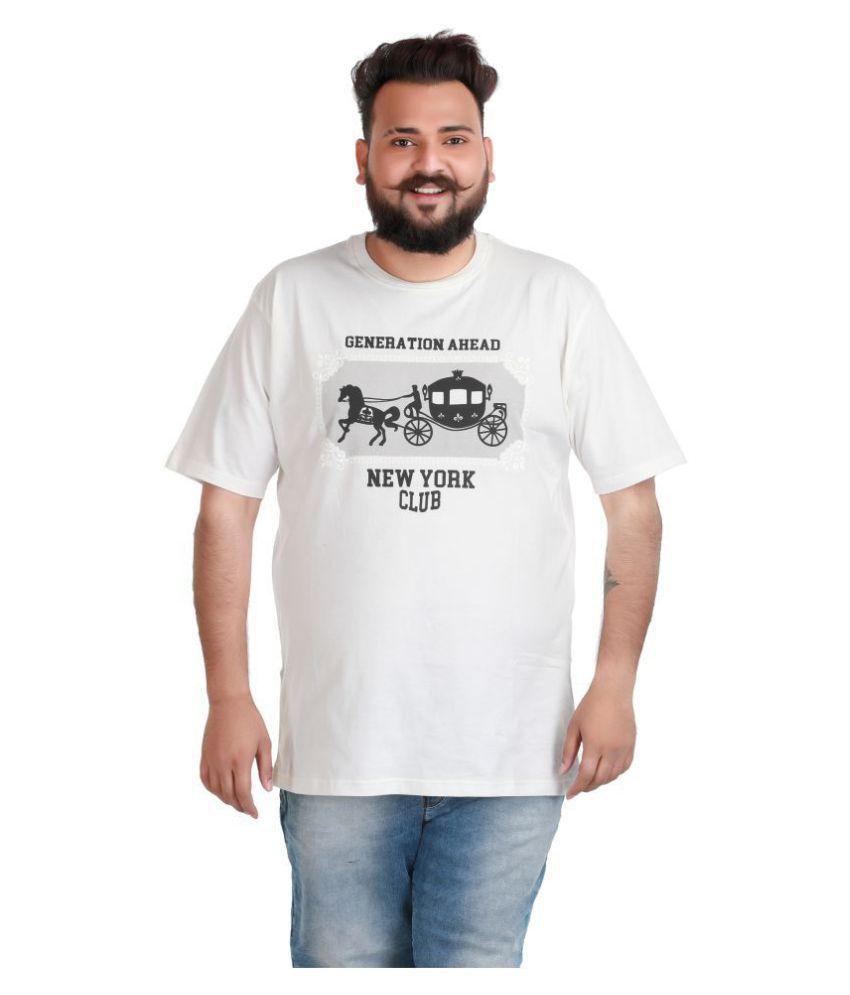 Xmex Off-White Round T-Shirt