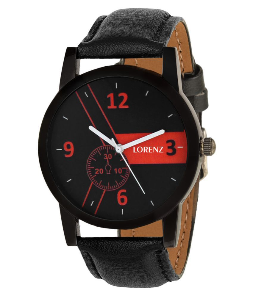 Lorenz MK 1028A RED casual Analog Watch   For Men