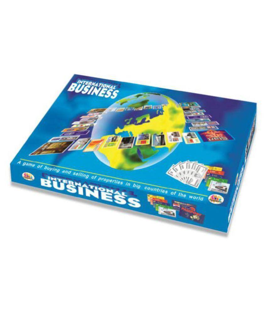 Masterfit Business International Board Game