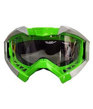 GREEN DIRT BIKE ATV MOTORCYCLE GOGGLE MOTOCROSS H GOGGLE-GREEN