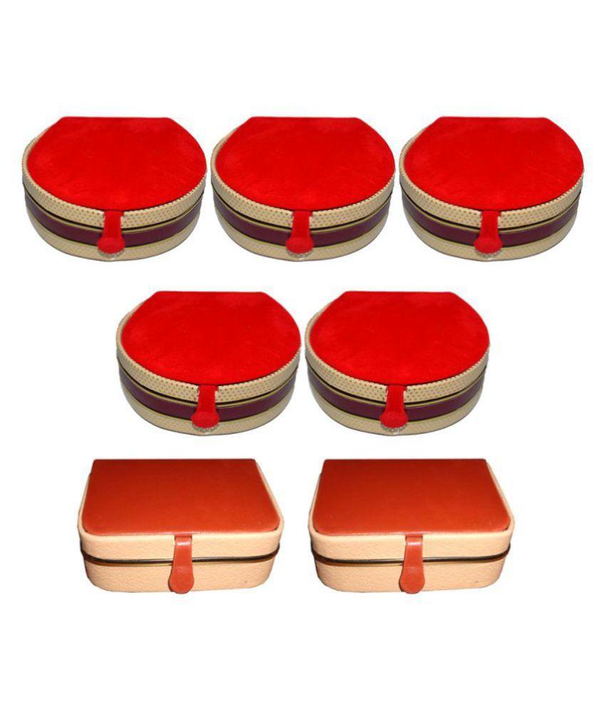 Aadhya Combo Of Ring & Bangle Box Pack Of 7