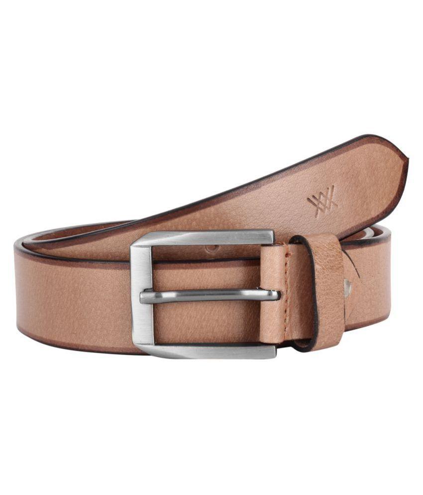 Aditi Wasan Beige Leather Casual Belts