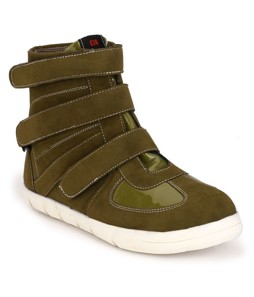 Eego Italy Green Casual Boot