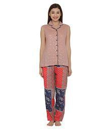 Clovia Crepe Pajamas