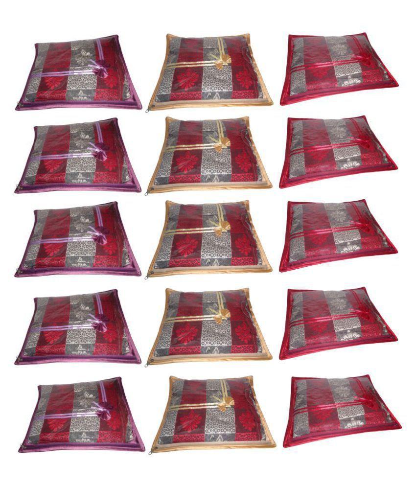 ABHINIDI Multi Saree Covers - 15 Pcs
