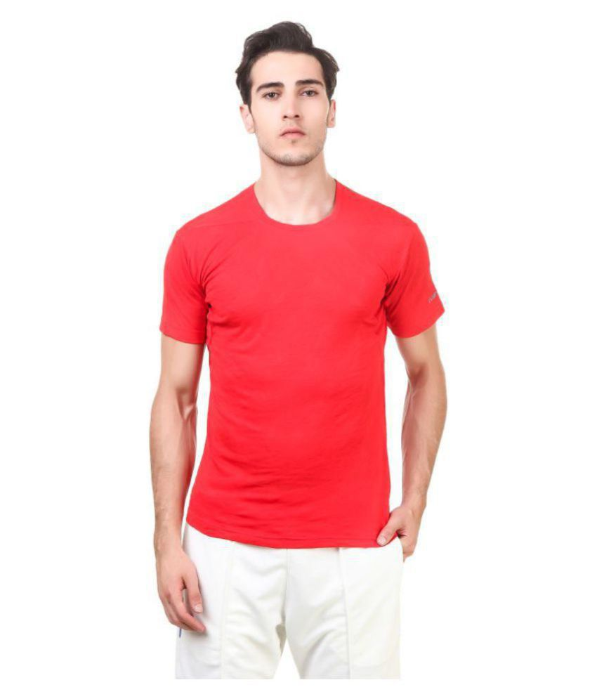 Nivia Red Polyester Jersey