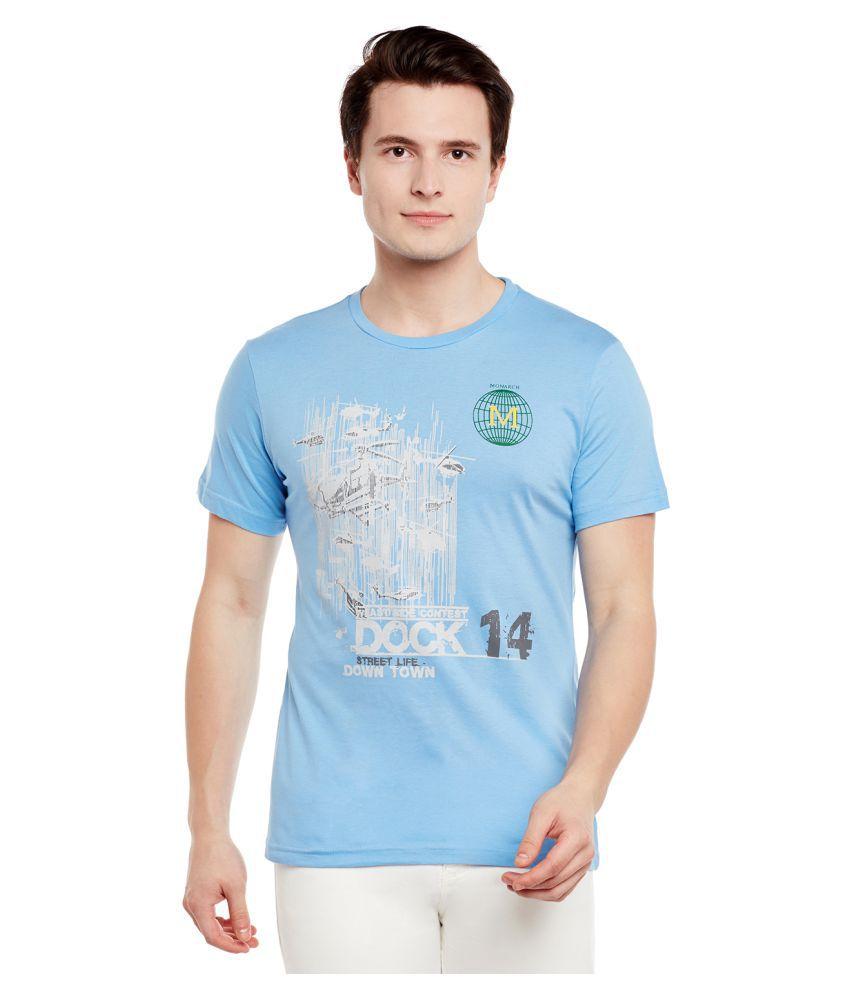 Monarch Blue Round T-Shirt