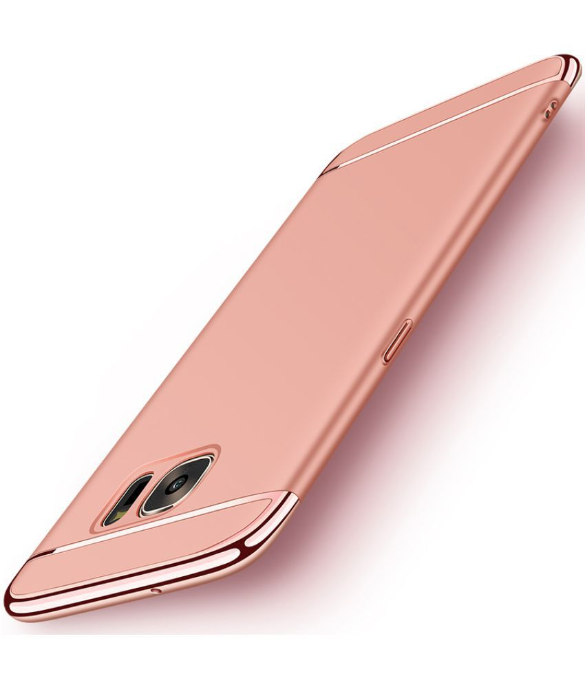 meet 2450d 28b75 Samsung Galaxy J7 Pro Plain Cases BeingStylish - Rose Gold