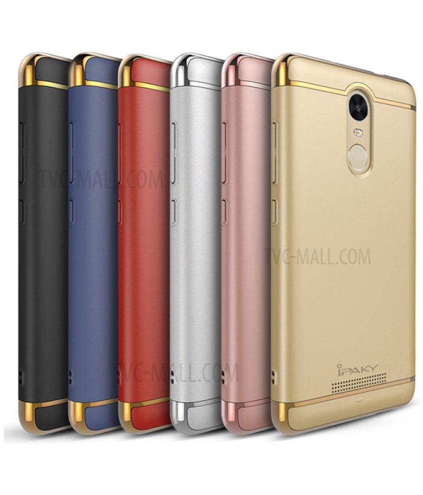 Xiaomi Redmi Note 4X Plain Cases BeingStylish - Golden