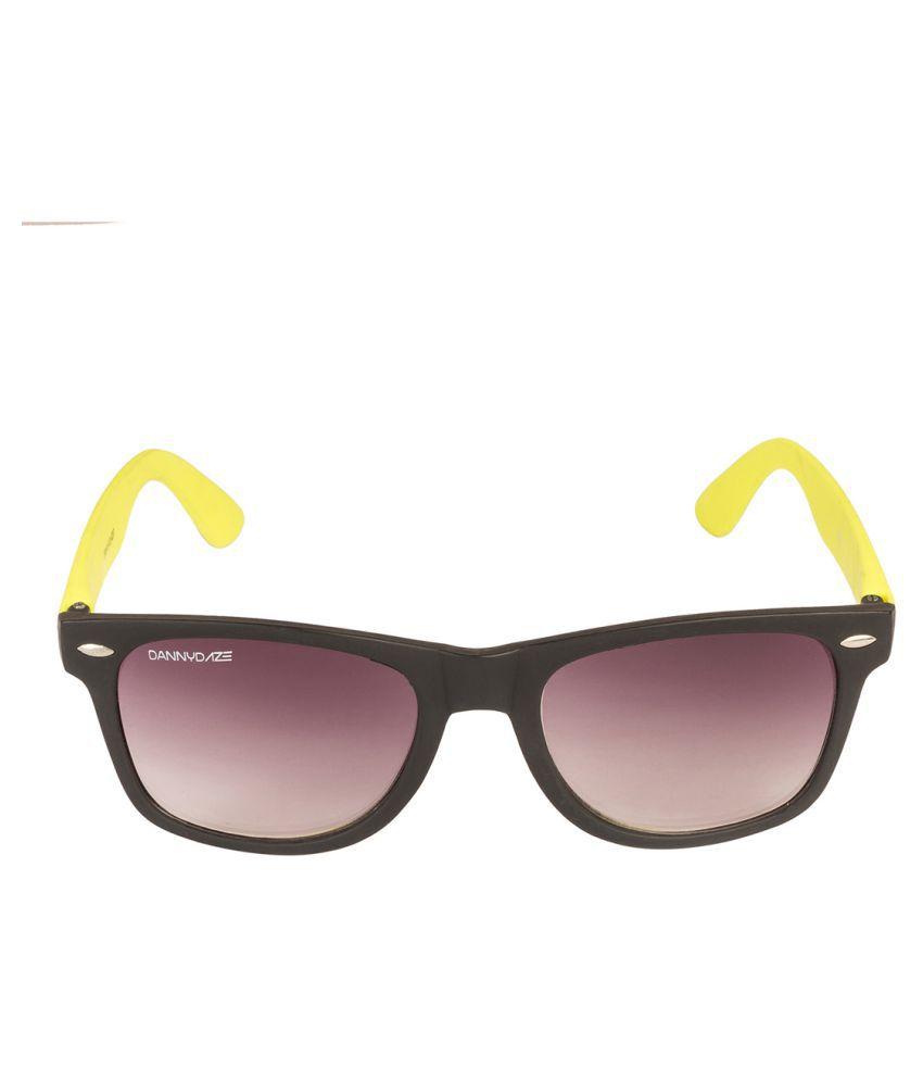 Danny Daze Voilet Wayfarer Sunglasses ( D-1704-C23 )