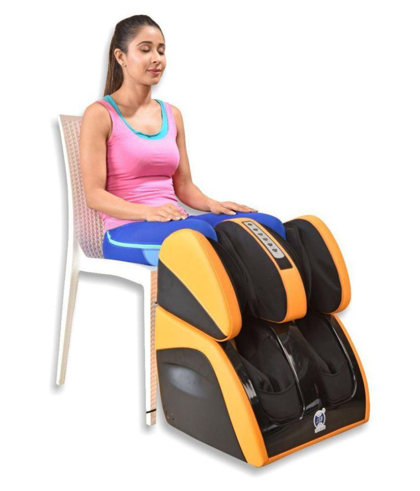 JSB HF111 Leg Foot Massager Machine for Calf Pain Relief & Knee Heating