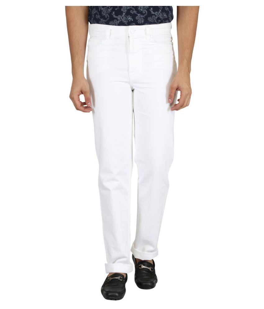 KILLER White Regular Fit Jeans