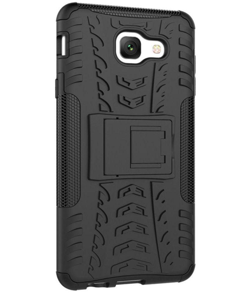 best service c30e6 41388 Samsung Galaxy J7 Max Defender Series Covers Wow Imagine - Black