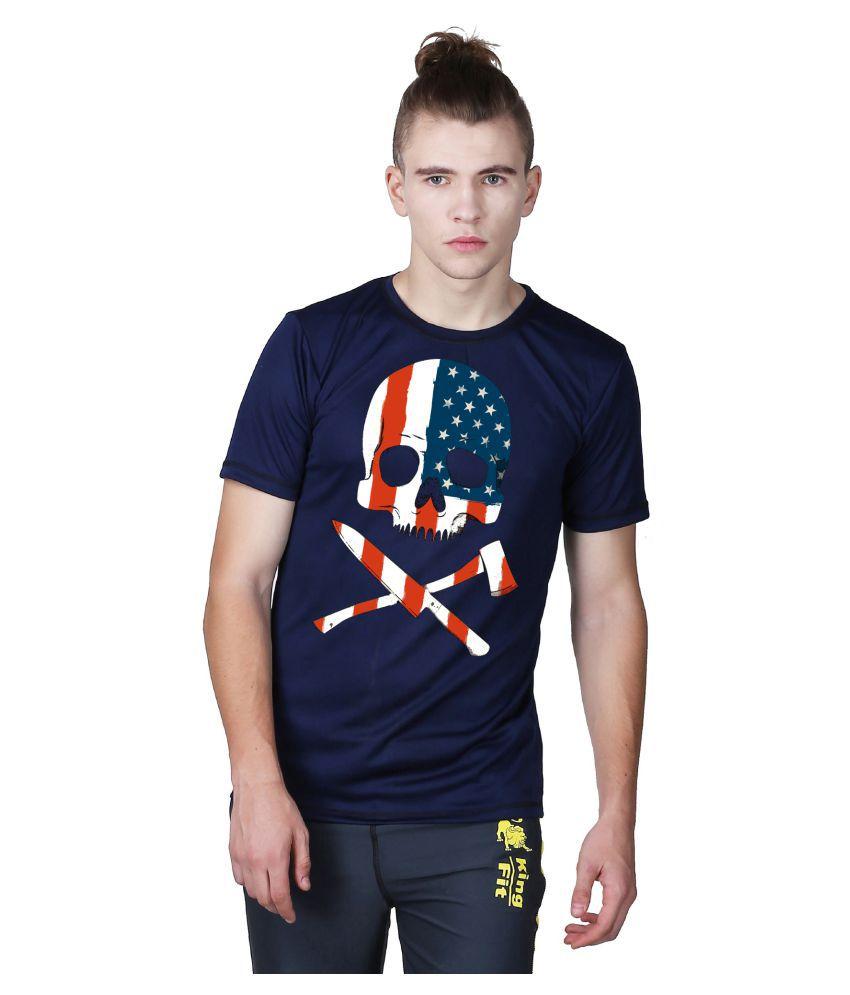 Essenze Navy Round T-Shirt