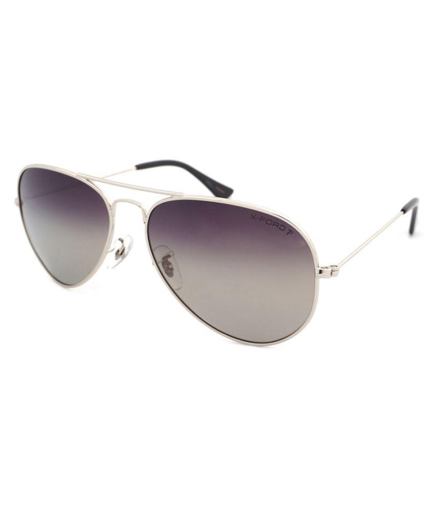 X-ford Grey Aviator Sunglasses ( 566 )