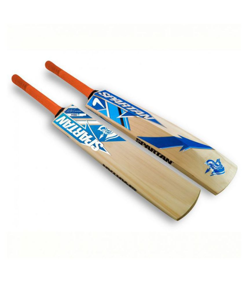 a0807658f4e RetailWorld Kashmir Willow Cricket Bat for Leather Ball (Full Size) with  Spartan Sticker  Buy Online at Best Price on Snapdeal