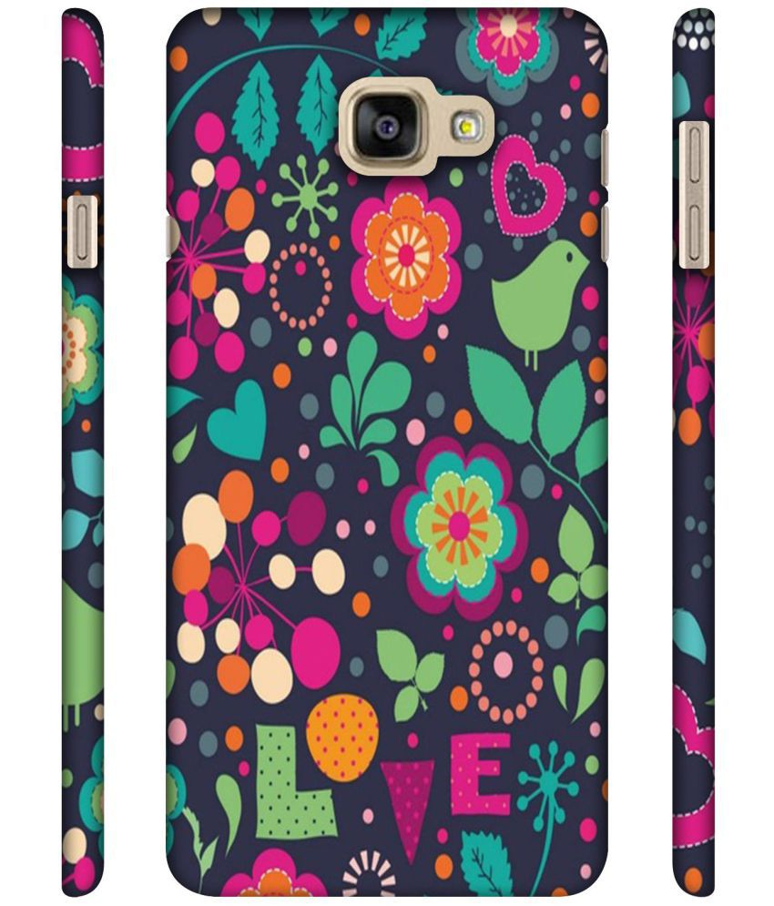 Samsung Galaxy A9 Pro Printed Cover By Casotec