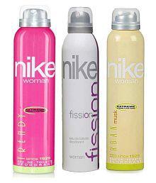 Nike Women Set of 3 (Trendy, Fission, Urban)