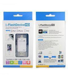 Sheeshaa NA White 4.0 Card Reader I-Flash Device Hd Sd Memory Card Reader