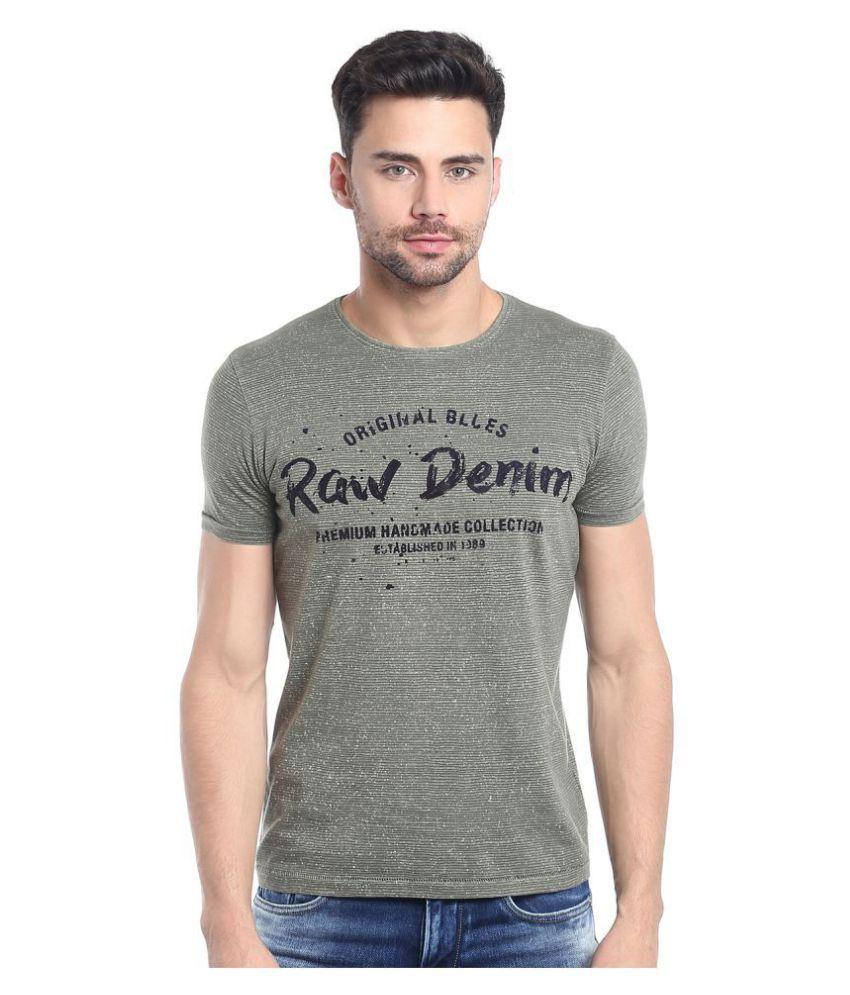 KILLER Green Round T-Shirt