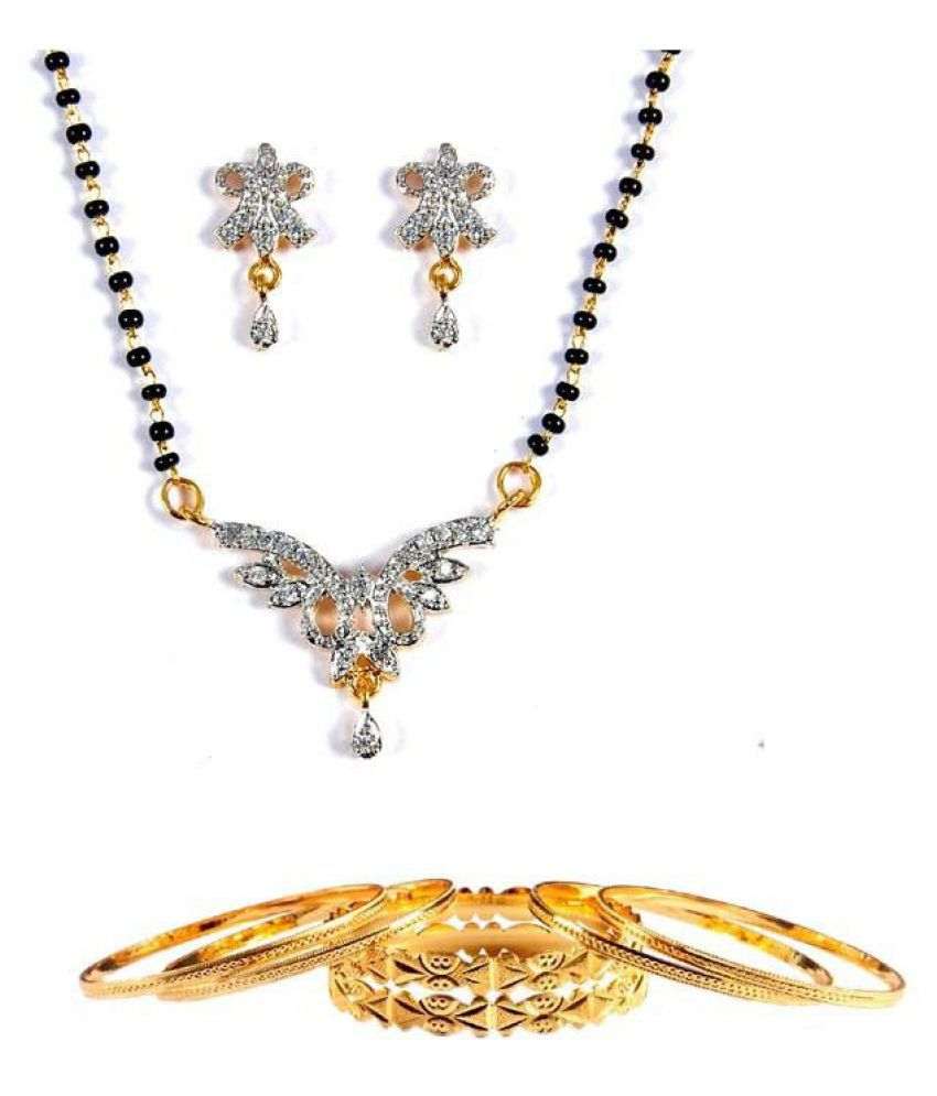 Luxor Exquisite Mangalsutra and Bangles Combo