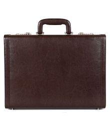 C Comfort Brown Medium Briefcase