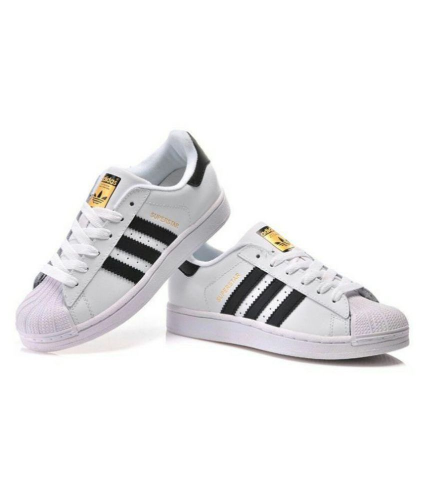 d22967152cc52 Adidas superstar White Casual Shoes - Buy Adidas superstar White Casual  Shoes Online at Best Prices in India on Snapdeal