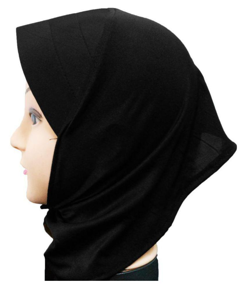 407b33143f5 Hijab BLACK CANVAS NINJA Women Tube Cap Ladies Hat Under Scarf Stole Bonnet  Head Hair Band Muslim Abaya  Buy Online at Low Price in India - Snapdeal