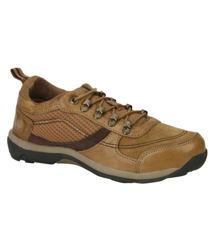 22959ddc8a4 Woodland GC 1881115 CAMEL Lifestyle Camel Casual Shoes