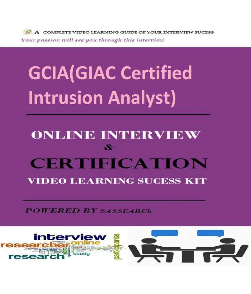Gciagiac Certified Intrusion Analyst Online Certification
