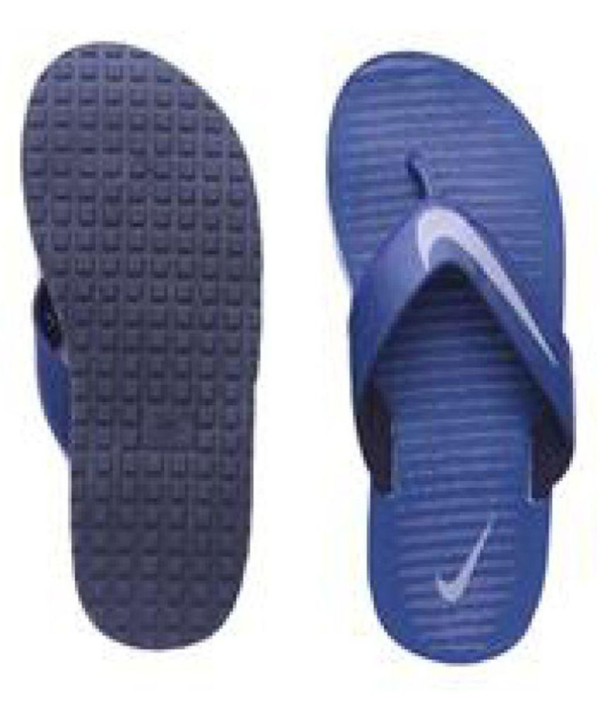 8326ac729 Nike Chroma Thong 5 Navy Thong Flip Flop Price in India- Buy Nike Chroma  Thong 5 Navy Thong Flip Flop Online at Snapdeal