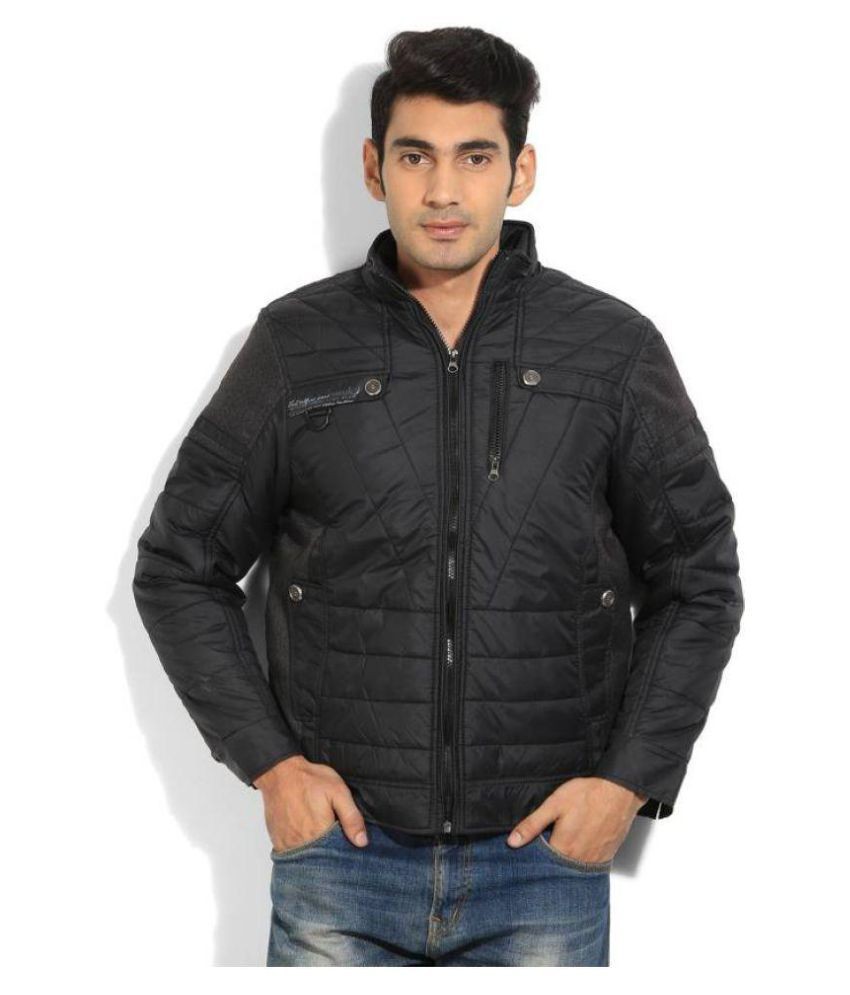 401a8c5dab0 Fort Collins Black Quilted   Bomber Jacket - Buy Fort Collins Black Quilted    Bomber Jacket Online at Best Prices in India on Snapdeal