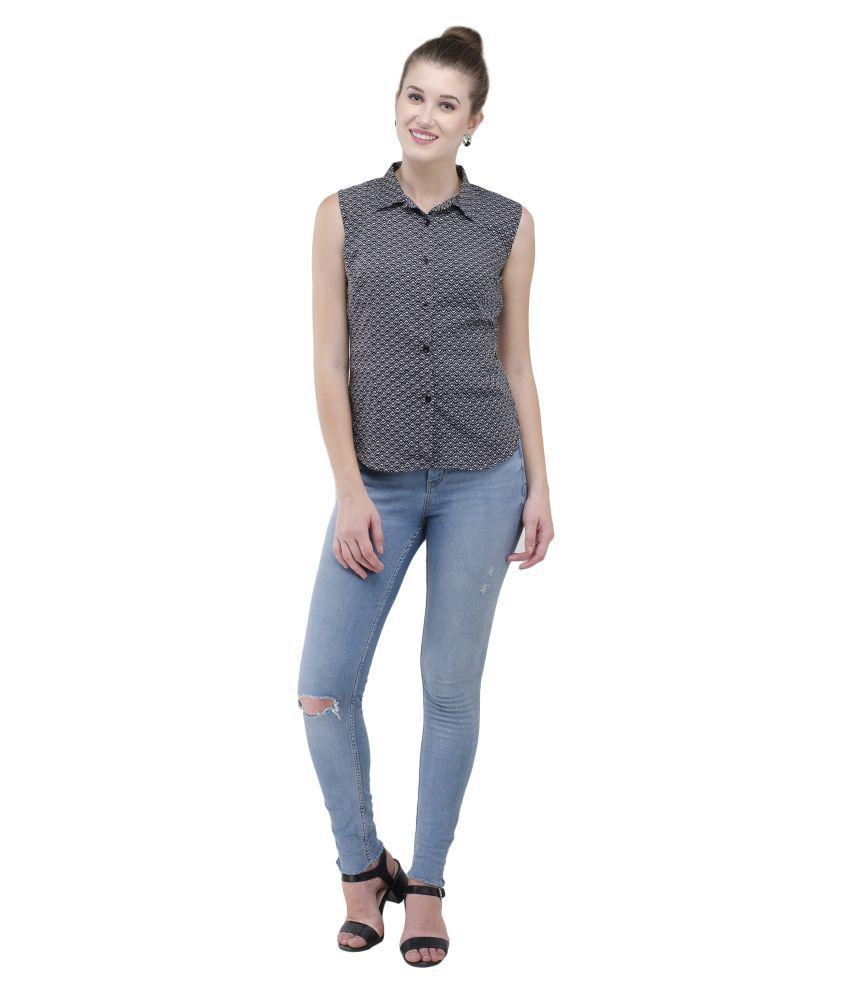 BABAJI Poly Crepe Shirt