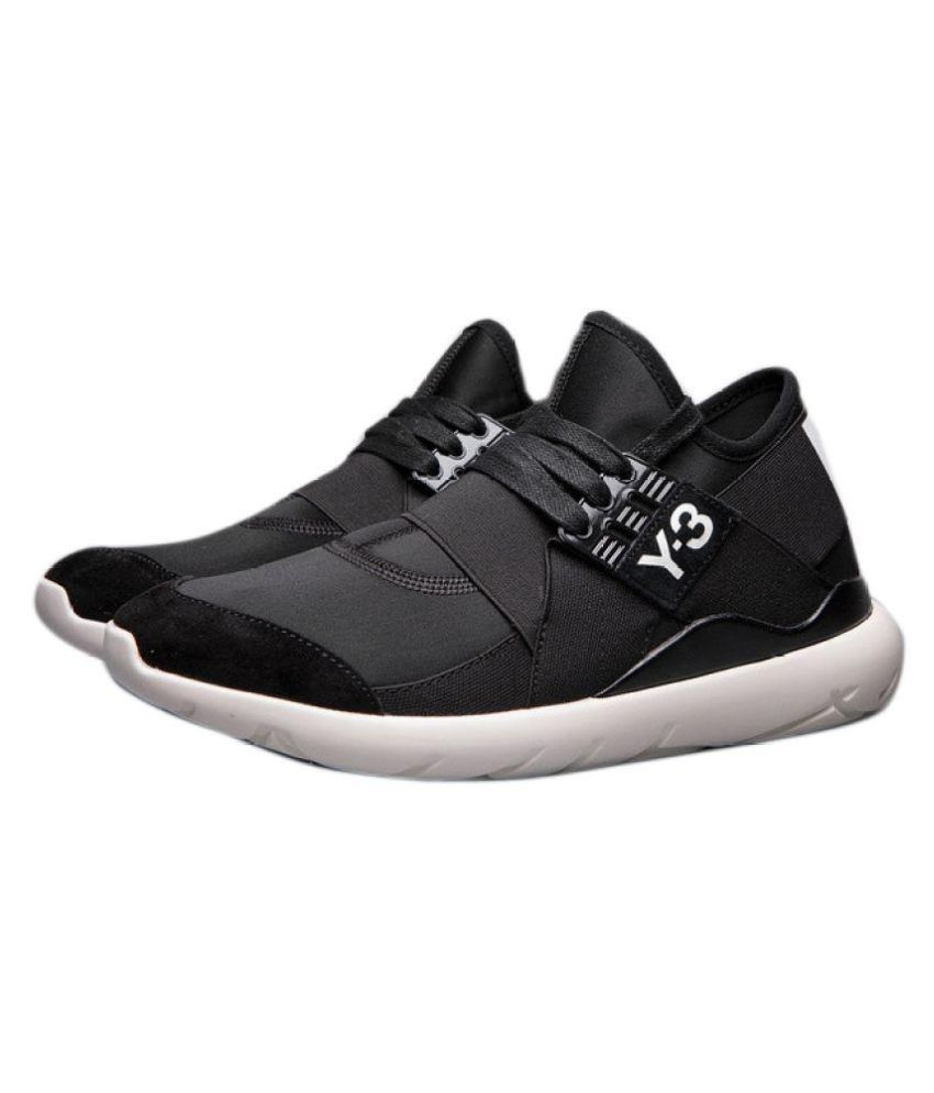 7e6edbde65d6c Adidas Y-3 MENS QASA ELLE LACE Black Running Shoes - Buy Adidas Y-3 MENS  QASA ELLE LACE Black Running Shoes Online at Best Prices in India on  Snapdeal