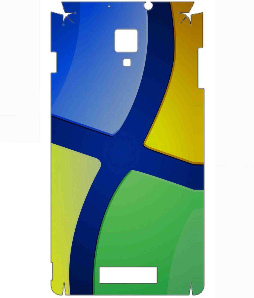 Karbonn Titanium Octane Designer Sticker By Snooky