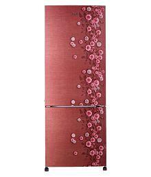 Haier 345 Ltr 3 Star HRB-3654CRL-E Double Door Refrigerator - Red
