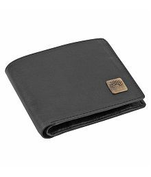 Woodland Clue Faux Leather Black Casual Regular Wallet