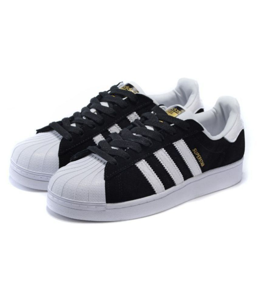 e066259a8455 Adidas Superstar Sneakers Black Casual Shoes - Buy Adidas Superstar Sneakers  Black Casual Shoes Online at Best Prices in India on Snapdeal