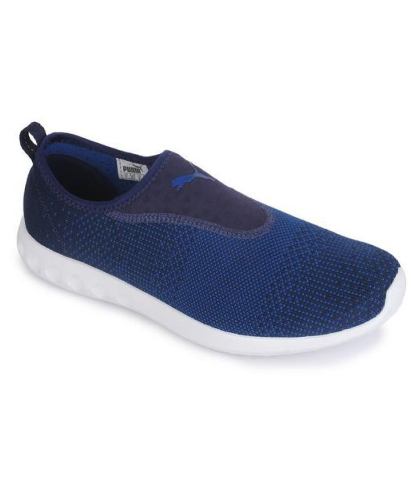 size 40 4197f 96fa2 Puma Carson 2 Slip-On Blue Running Shoes