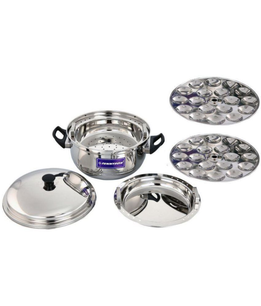 a9b74753783 TENNYSON Stainless Steel Idli Cooker  Buy Online at Best Price in India -  Snapdeal