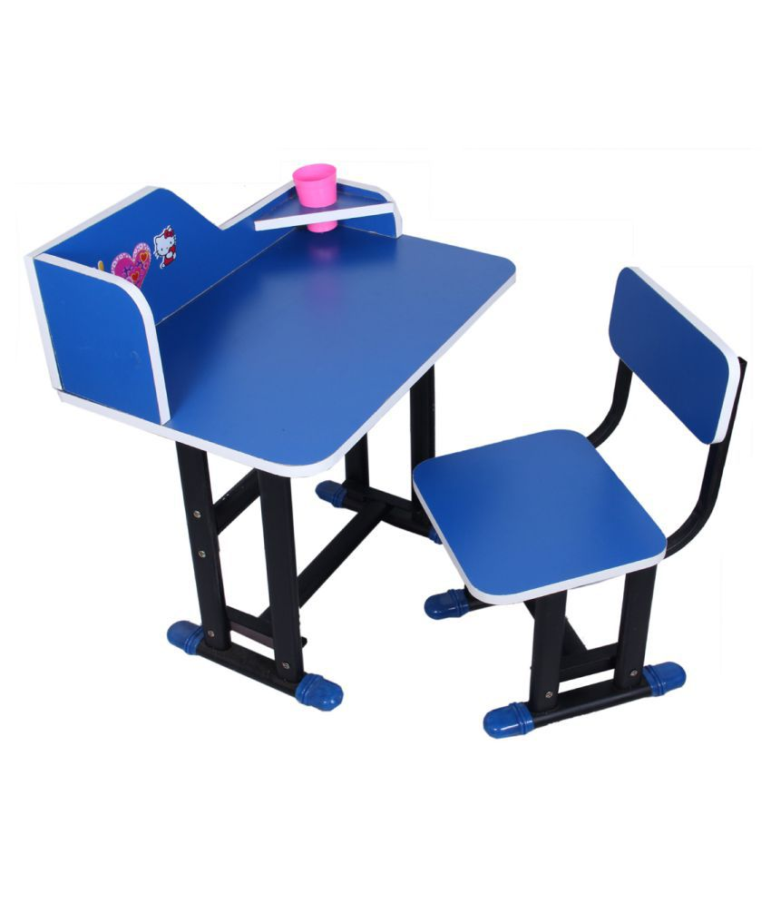 Kids Study Table And Chair Set Ergonomically Design Multipurpose With