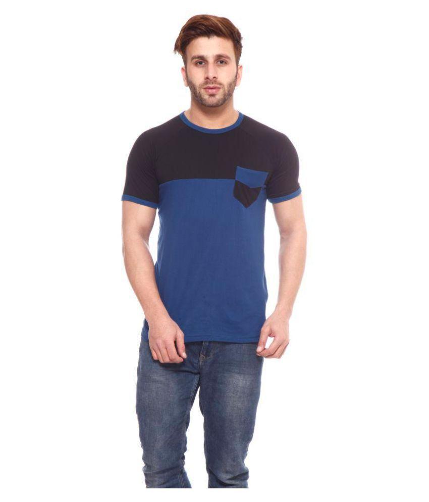 birdstone Blue Round T-Shirt