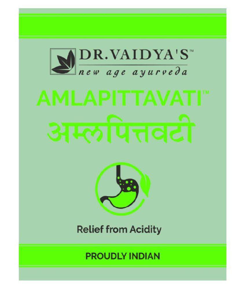 Dr  Vaidya's Amlapittavati Ayurvedic Pills for Acidity - Pack of 3 (24Pills  X 3 )