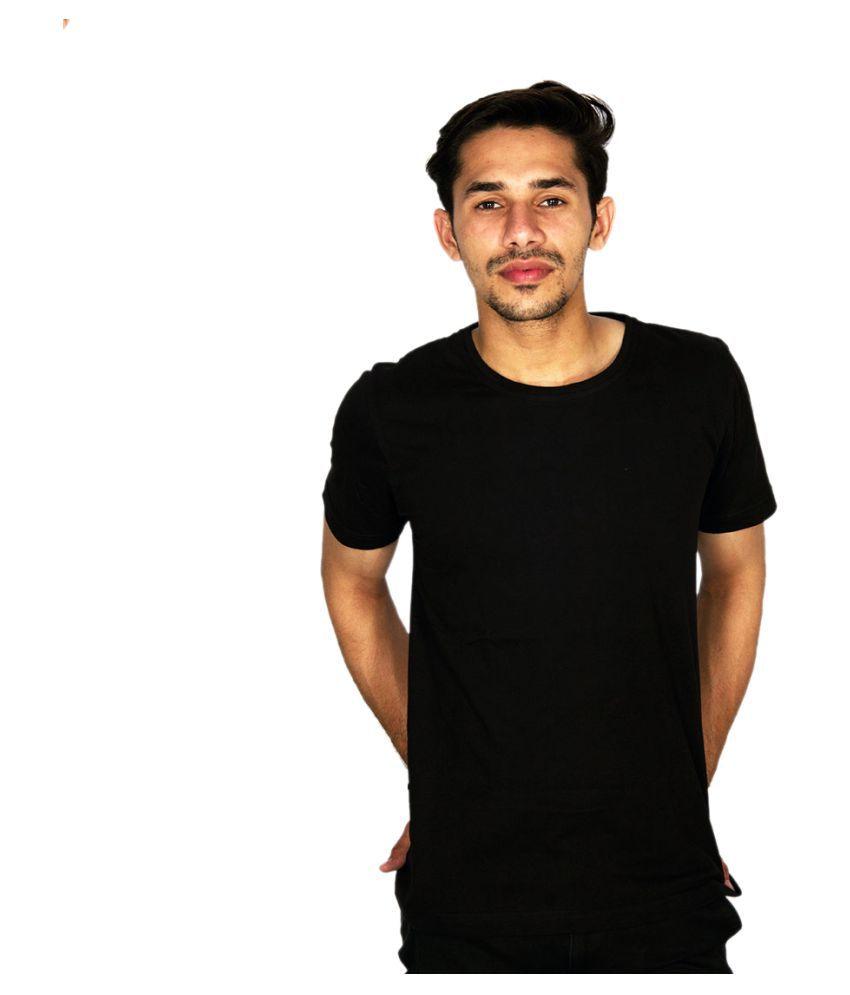 Hollane Fashion Ware Black Round T-Shirt