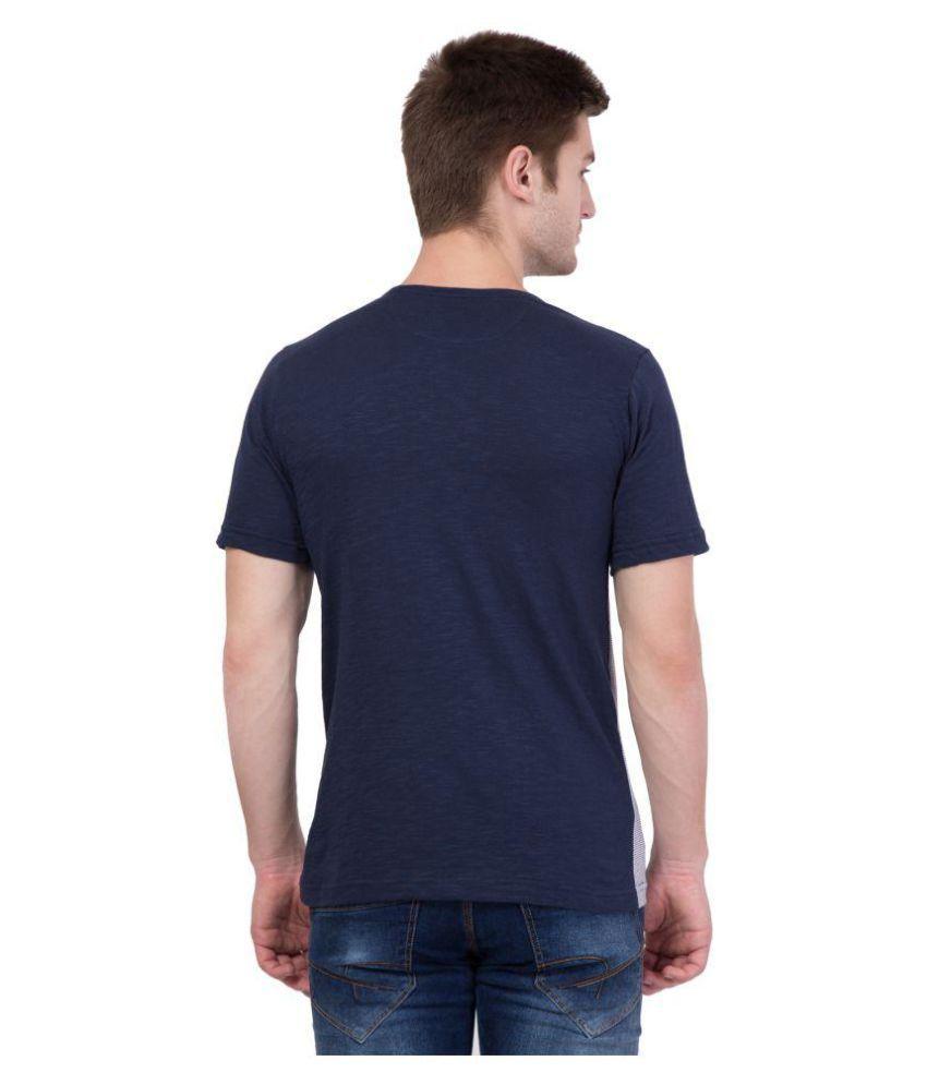 AERO Blue Round T-Shirt